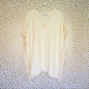 Bishop + Young Revolve Small Sweater poncho cape